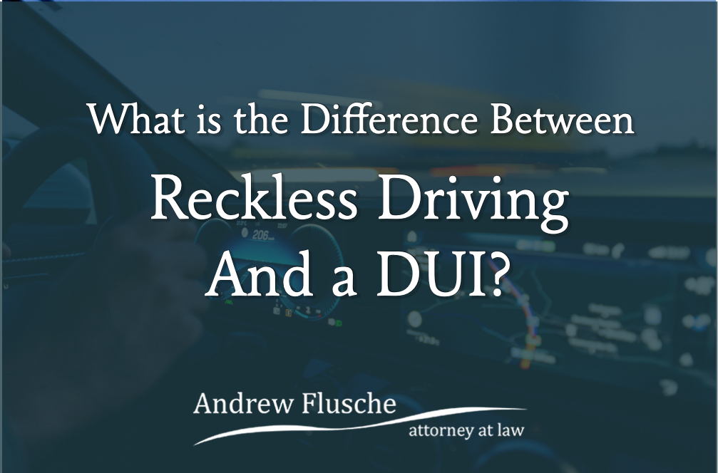 reckless driving vs dui in virginia