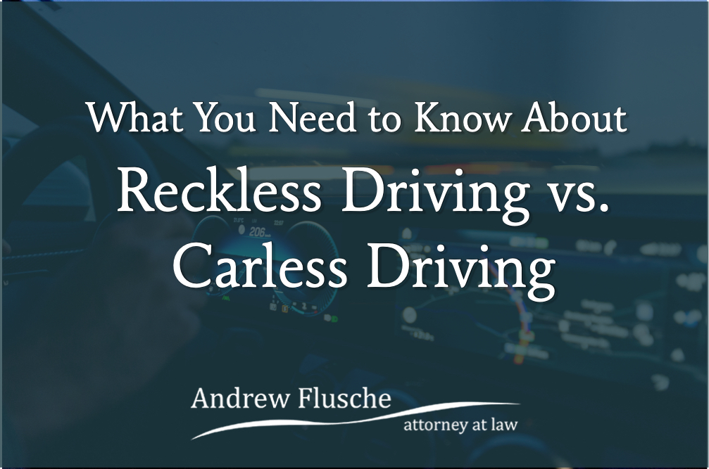 careless driving vs reckless driving