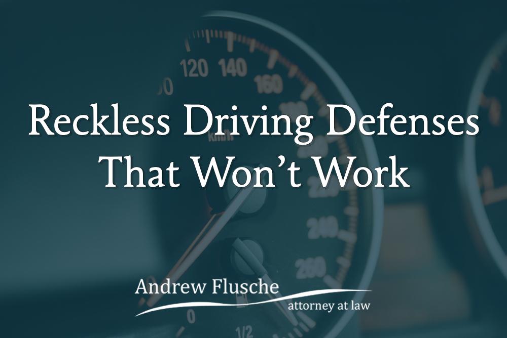 reckless driving defenses virginia